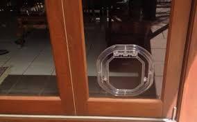 dogwalk medium unobtrusive slimline dog door aussie pet doors