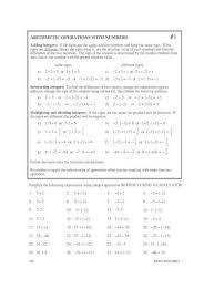 algebra 1 skill builders