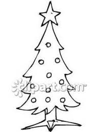 Christmas Tree Drawing Clipart  ClipartXtrasChristmas Tree Outline Clip Art