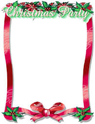 christmas clip art for flyers clipartfest christmas party program