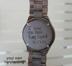 Mens Watch Mens Wooden Watch Engraved Wood Watch Personalized Best Watch Engraving Quotes
