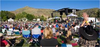 concert at outlaw field from the idaho botanical garden s