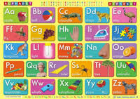 Alphabet Chart Australia Alphabet Wall Chart