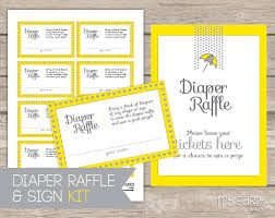 raffle sign love rain baby shower printable diaper raffle tickets and sign my
