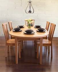make a bold statement vt shaker oval dining table with shelburne dining chairs