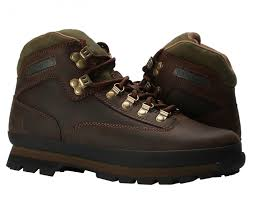 timberland euro hiker oiled leather brown men s boots 95100 free at nycmode
