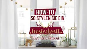 Kreative Weihnachtsdeko Fürs Fensterbrett Im Westwing Magazin