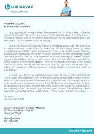 letter of recommendation for residency pin by lor service on residency letter of recommendation sample