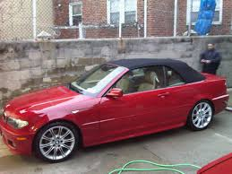 Coupe Series 2004 bmw 330ci m package : For Sale: 2004 BMW 330ci ZHP Imola Red Convertible/ Sand Leather ...