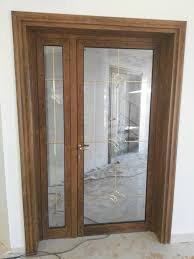 aluminum glass doors double glass