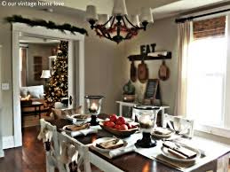 Christmas Dining Room Themed Dining Room Table Setting Decor Living Room Ideas Cheap