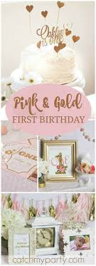 Pink and Gold / Birthday