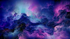 2560x1440 Colorful Clouds Abstract 4K ...