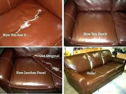 how to fix a torn leather couch leather couch rip repair repairing sofa furniture rips re