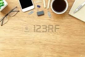 Top office table cup Blank Note Office Table Top Stock Photo Table Top View Aerial Image Stationary On Office Desk Background Lay Scrapushkainfo Office Table Top Scrapushkainfo
