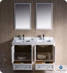 48 inch double vanity sink. fresca oxford 48\ 48 inch double vanity sink e
