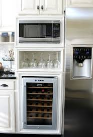 best 25 built in microwave cabi ideas on diy microwave kitchen cart microwave kitchenaid