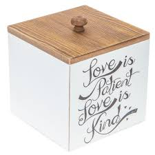 love is patient wood box hobby lobby