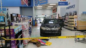 walmart store entrance. Exellent Walmart A Vehicle Sits Inside The Coldwater Walmart Store After Crashing Through  General Merchandise Entrance Saturday May 19 2018 Intended Store Entrance C