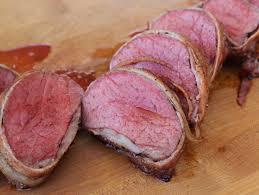 bacon wrapped beef tenderloin recipe on