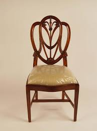 Mahogany Shield Back Dining Chairs Sweetheart Chairs - Shield back dining room chairs