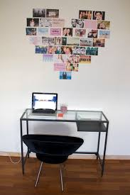 collage desk and heart image