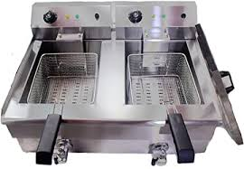 YB-102V Hopopular <b>Deep Fryer Electric</b> Commercial 3000W 20L ...