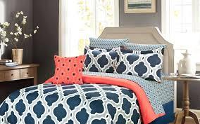 navy and c bedding image of blue aqua