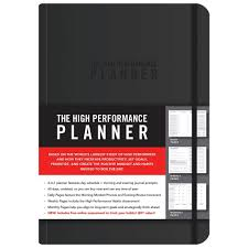 Daily Journal Planner The High Performance Planner