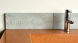 How to ShapeCrete :: Make a Wood Grain Concrete Tile from Rubber Mold -  YouTube