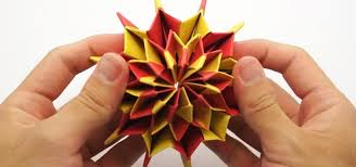 Paper Origami Flower Making How To Make Colorful Fireworks Using Origami Paper Origami