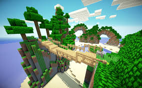 breeze island amazing minecraft survival games map now on pocket