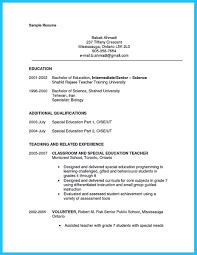 Assistant Teacher Resume Awesome Grabbing Your Chance With An Excellent Assistant Teacher 15