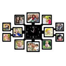 clock personalized 12pc wall clock 10