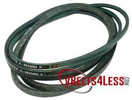 9543084 Replacement Mtd Cub Cadet Belt Set 2