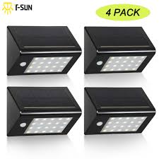 Buy 4 Pack Led Solar Light 20 Leds Waterproof Sensor Light Outdoor
