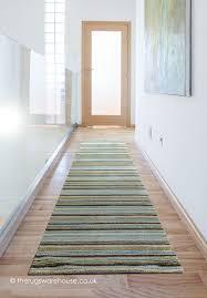 appealing beige runner rug joseph blue green runner a striped blue green beige brown 100