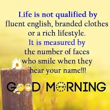 Good Morning Life Quotes Hindi Best of Good Morning Inspirational Quotes With Images Also Inspirational