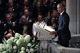 Barack Obama's Eulogy At John McCain's Memorial Full Transcript Of Awesome Barack Obama Resume