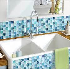 Beaustile Mosaic 3D Wall Sticker Home ...