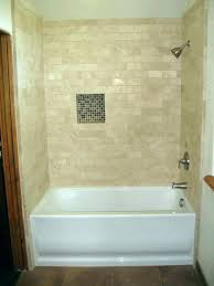 subway tile bathtub tile b surround medium image for ideas bathroom with tub installation cost how