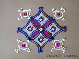 Small Picture Easy and small 5 by 5 dots rangoli Creative rangoli designs by