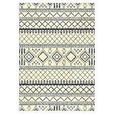 target black rug bathroom and white minimalist