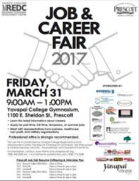 Prescott Job Career Fair 2017 At Yavapai College