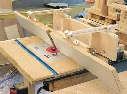 table fence router diy