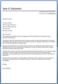 Nurse Cover Letters Inspiration Nursing Resume Cover Letter Nursing