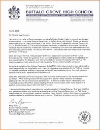 Recommendation Letter For High School Student Student Recommendation Letter From High School Teacher 4