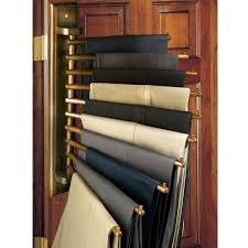 wall mount trouser pant closet organization rack mounted