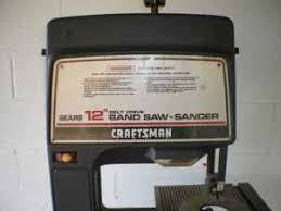 80 inch band saw blade. \u201cfor sale a 12\u201d craftsman stand up bandsaw does need saw blade other than that it is in perfect working order stands about 4.5 feet tall\u201d 80 inch band
