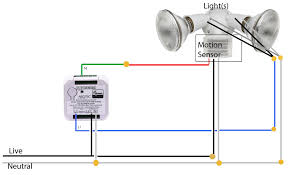 wiring diagram for outdoor motion sensor light wiring diagram and rh rivcas org wiring motion sensor